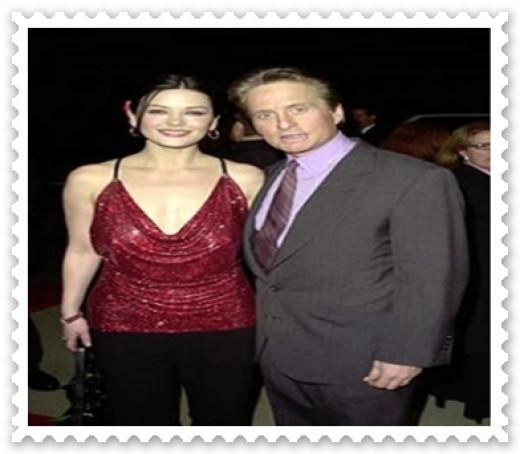 MichaelDouglas and Catherine Zeta Jones