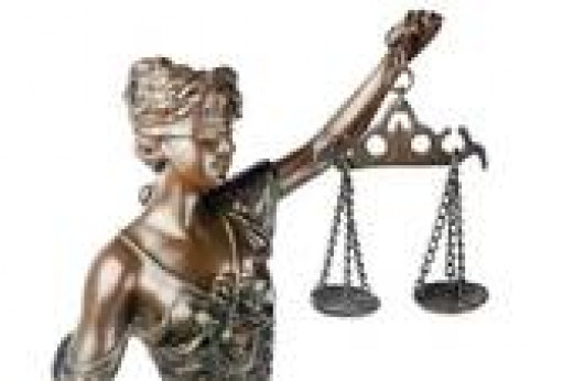 the scales of justice must remain blind
