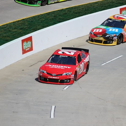 Once drivers are in the Chase, their points are reset to zero.