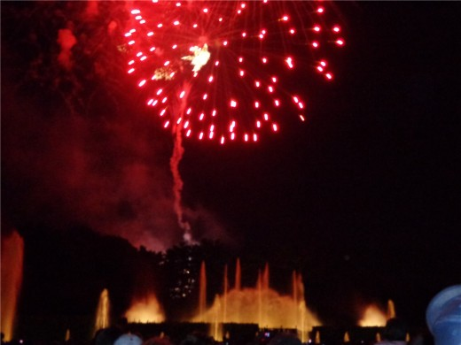 Longwood Fountains and Fireworks