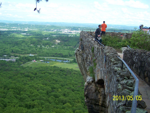 LOOKOUT MOUNTAIN WAS APPROPRIATELY NAMED