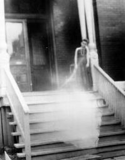 Pictures like this ghost image give credence to those who believe in poltergeist. On the other hand, many people contend the photo was doctored.