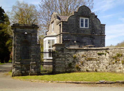 Another view of the Toll House.