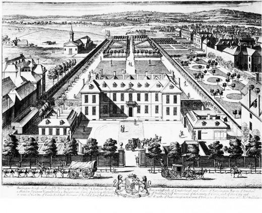 Burlington House c.1698