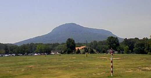 HIGH POINT IS 2,389 ft or 728 m