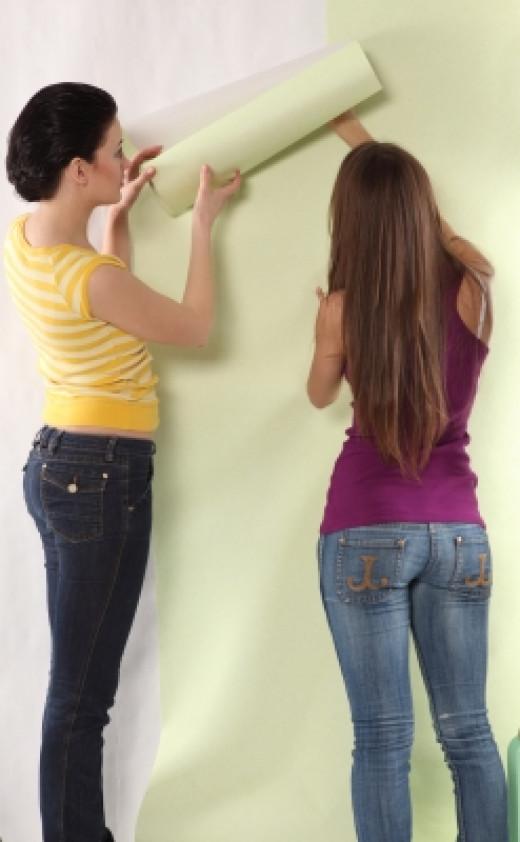 Home Decorators Wallpapering