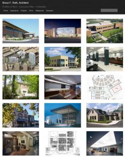 The home page of my online portfolio (photoblog)