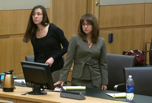 Jodi Arias At Her Trial