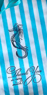 -- All Rights Reserved -- Do Not Distribute -- Seahorse candy bags from Marry Me Vintage
