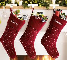 These stockings are beautiful, but if you cannot fit names on stockings, consider finding stockings with different designs on the front. This way each person will know what design his or her stocking is and can easily locate it.