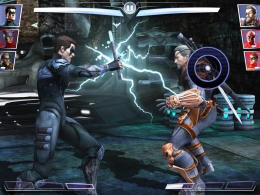 """Injustice"" app gameplay"