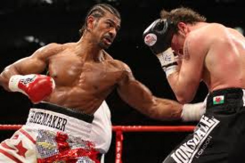 The Haymaker David Haye lands a huge left hook as Enzo covers up. Haye only lost one bout as a Cruiserweight and he also unified the titles before moving up to heavyweight.
