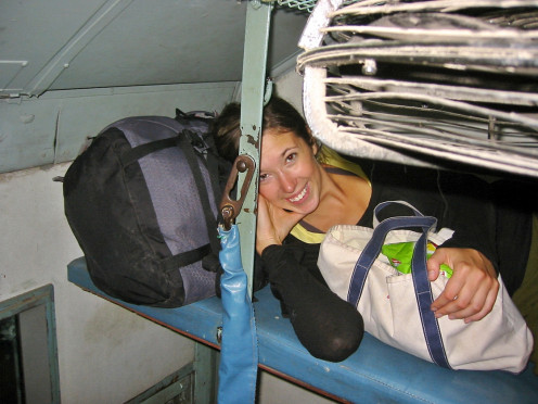 Travelling in Sleeper Class can be a bit tedious