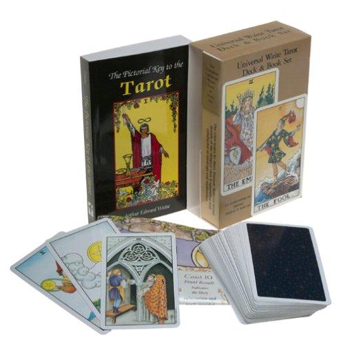 The Universal Waite Tarot Deck & Book Set.