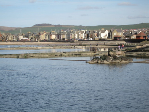 Saltcoats is still a popular spot with Scottish visitors especially during the Glasgow Fair fortnight.