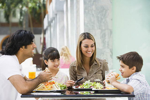 The best family counseling happens around a table over a good meal.