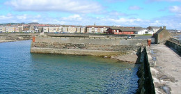 Saltcoats Harbor was one of the busiest ports in Scotland until the new Ardrossan harbor came along.