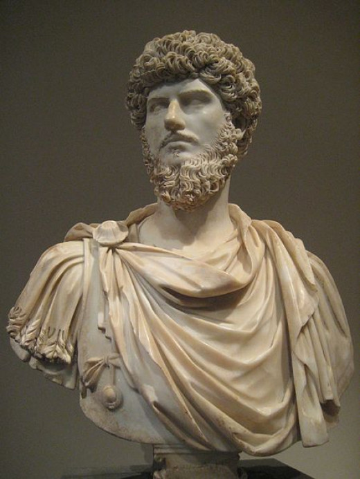 Lucius Verius ruled with Marcus Aurelius from 16-169