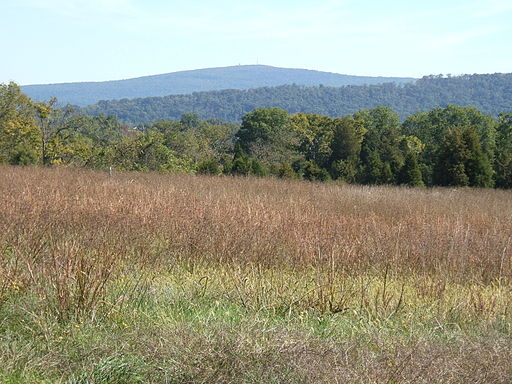 An view from the Appalachian Trail in Maryland