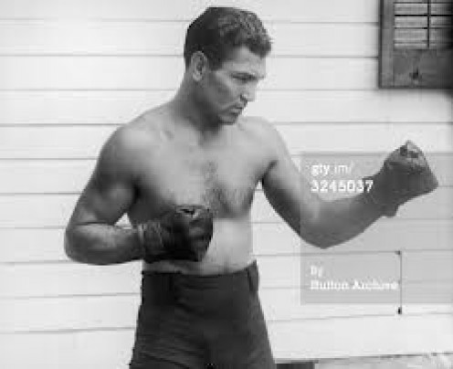 Jack Dempsey is one of the best heavyweights of all time.