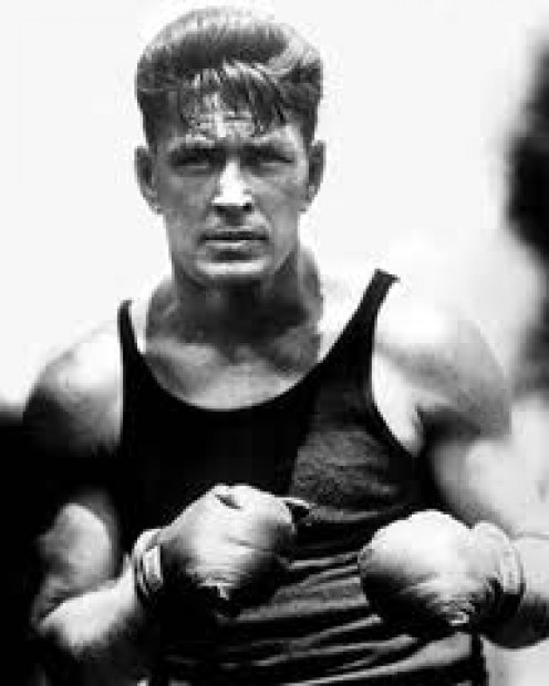 Gene Tunney beat Jack Dempsey for the heavyweight title and then beat him again in the rematch.