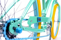 Customized Color Bikes for Creative Kids and Teenagers