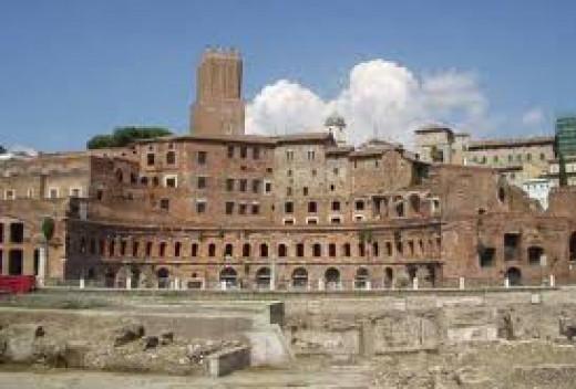 Roman Senate Building Forum Roman Empire Senate Building