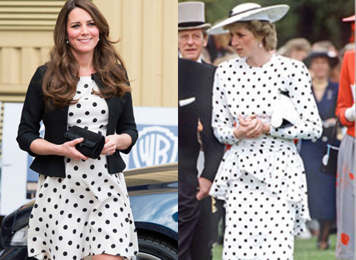 The Royals can't even get polka dots off their wardrobe collection.
