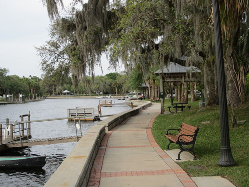 Cotee River Park. Port Richey Area.