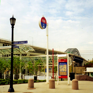 RTA's Waterfront Line now connects much of the Flats to the Terminal Tower and Public Square.