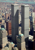 One World Trade Center Reaches 1,776 Feet