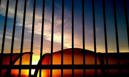 The gate outside of Heaven?