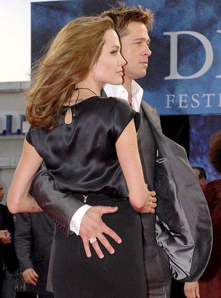 Hollywood Superstars Brad Pitt and Angelina Jolie