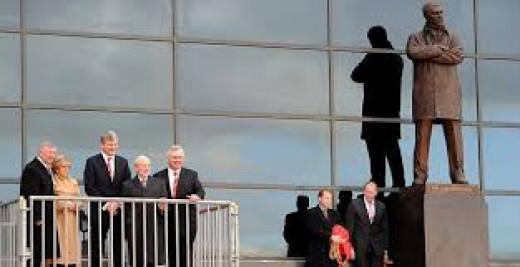Sir Alex Ferguson - Statue at Old Trafford