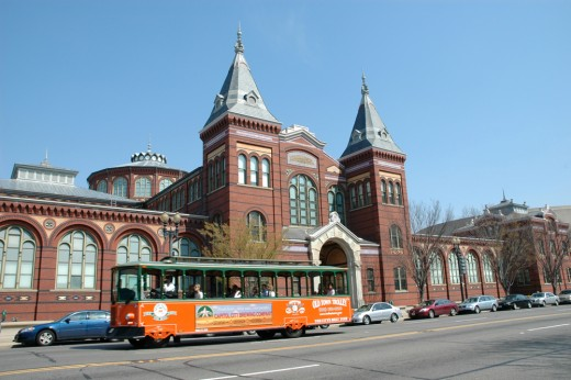 Trolley Tours of the Museums