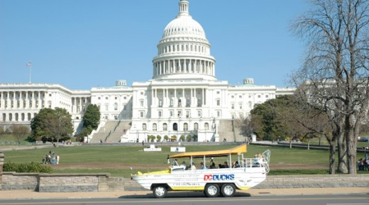 Duck Tours in Washington DC