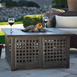 Propane Fire Pit Table - Outdoor Living All Year Round