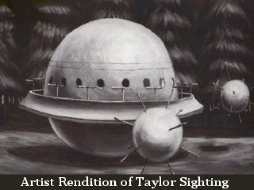 """Robert """"Bob"""" Taylor UFO Incident 1979"""