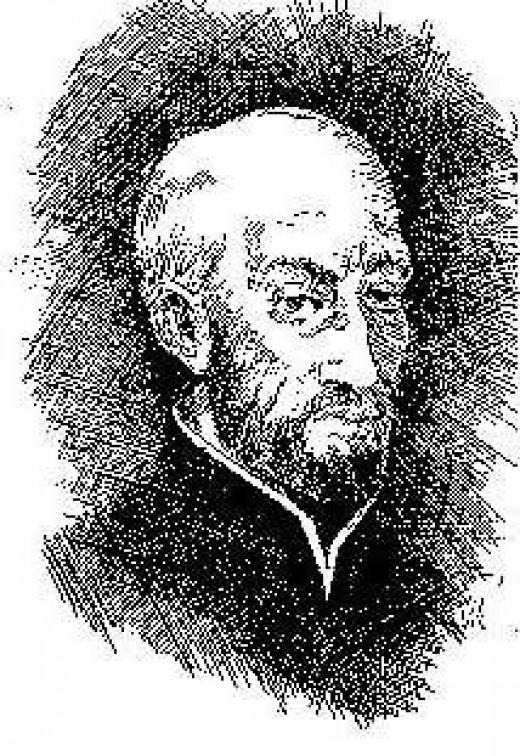 Jesuit Francisco Ribera (1537-1591) of Salamanca Spain