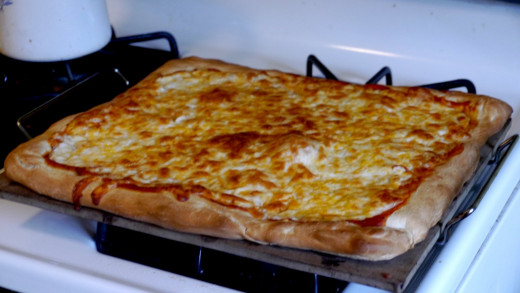 This is one of the best pizza's I have ever made, no joke.