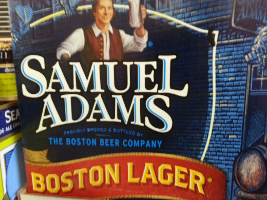 A great example of a basic lager, Sam Adams Boston Lager.