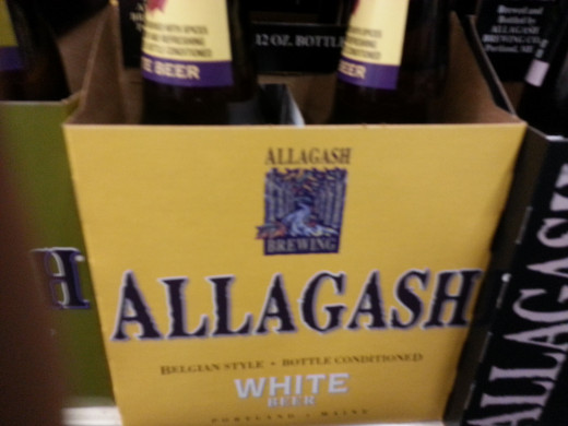 Allagash White, the recommendation for a weissbier.