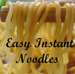 Easy Noodles Recipe - DIY Pot Noodle!