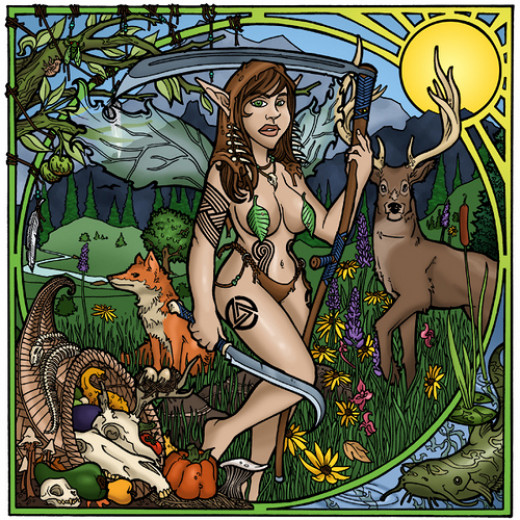 Fairy and Forest Animals
