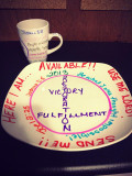 Arts & Crafts Ideas: Designing Dinnerware To Make a Declaration for Your Future