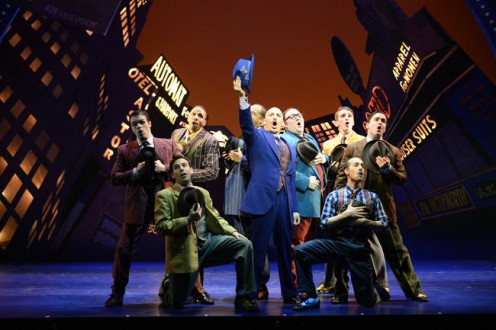 "Scene from PlayhouseSquare's and Great Lakes  Theatre's ""Guys and Dolls"""