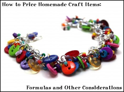 How to price homemade craft items formulas and other for Home crafts to sell