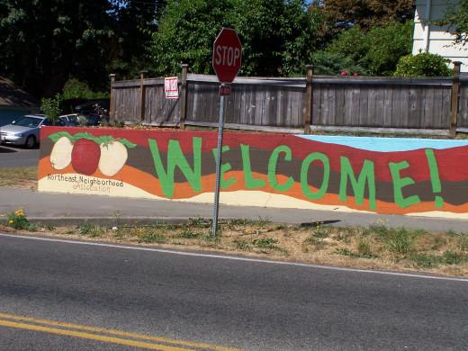 Welcome to my neighborhood