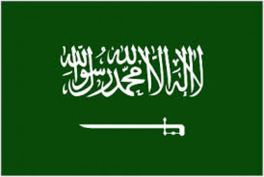"On the Saudi flag, the Wahabi creed places a sword below the Islamic Declaration of Faith: ""There are no Gods but Allah, and Muhammad is His Messenger""."
