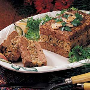 Mushroom-Stuffed Meat Loaf Recipe photo by Taste of Home